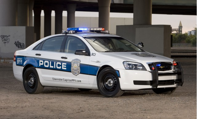2011 Chevrolet Caprice Police Car