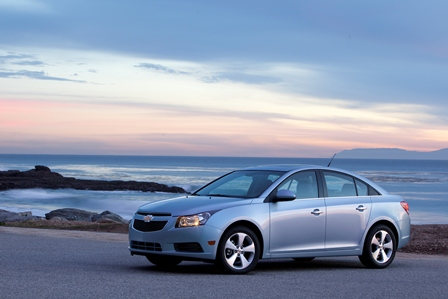 2011 Chevrolet Cruze Configurator Live, Full Pricing Revealed
