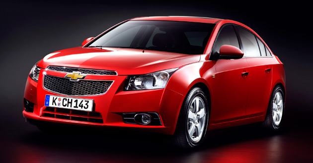 The new Cruze is already on sale in South Korea and will arrive in Europe almost 18 months before the U.S.