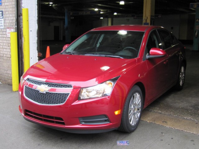 2011 Chevrolet Cruze Eco, New York City, March 2011