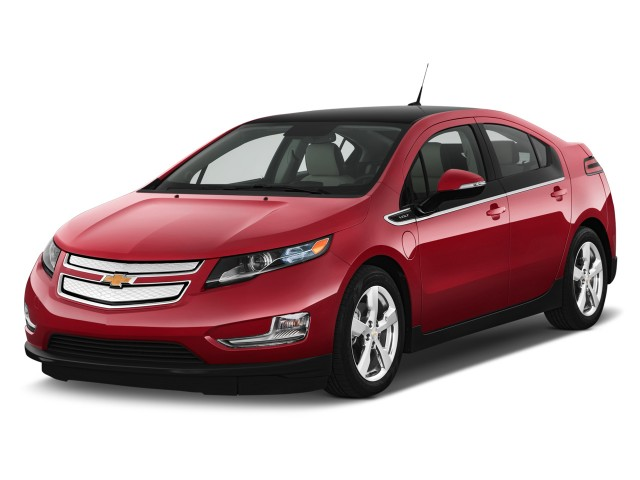 Angular Front Exterior View - 2011 Chevrolet Volt 5dr HB