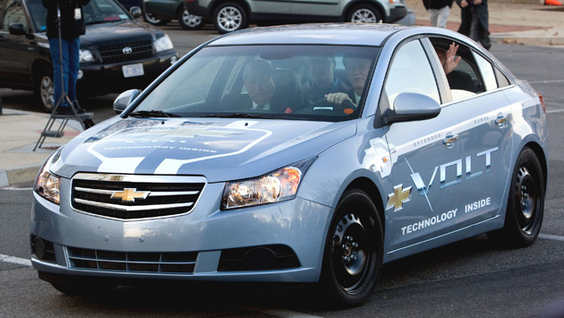 Chevrolet Volt Driving Day Planned For Obama S Auto