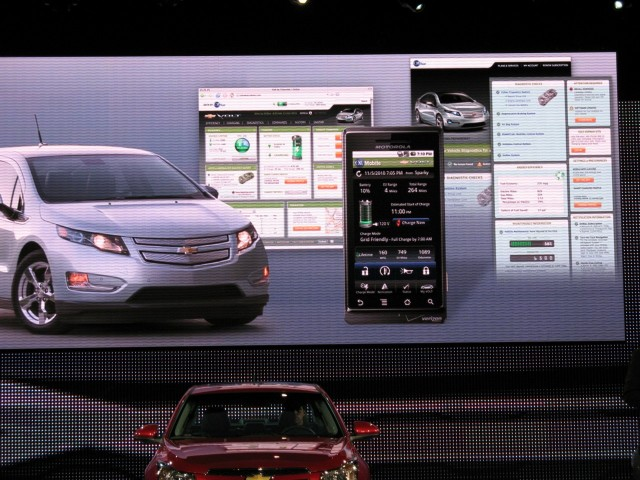 App for 2011 Chevrolet Volt, with Chevy Cruze