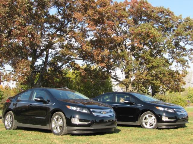 2011 Chevrolet Volt test drive, Michigan, October 2010