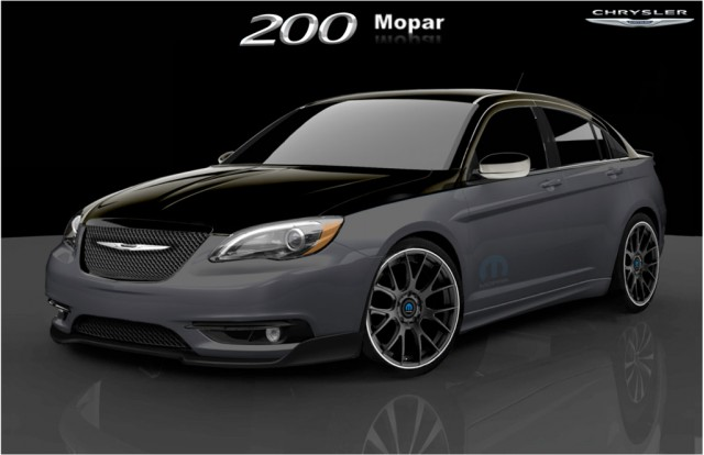 2011 Chrysler 200 S Mopar