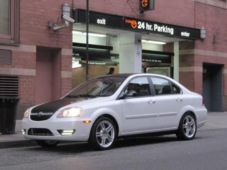 2011 Coda Sedan at Hertz Global EV rental launch, New York City, December 2010