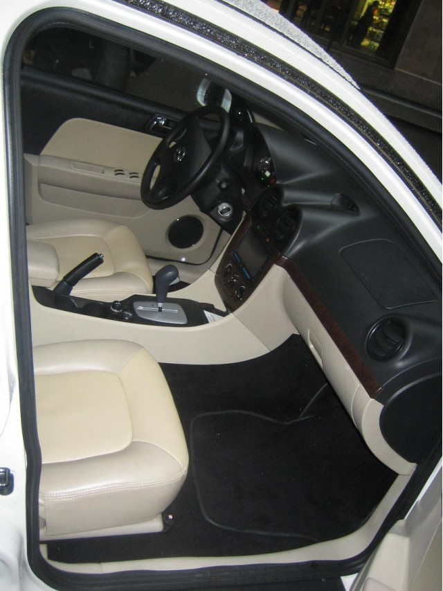 2011 Coda Sedan prototype - interior