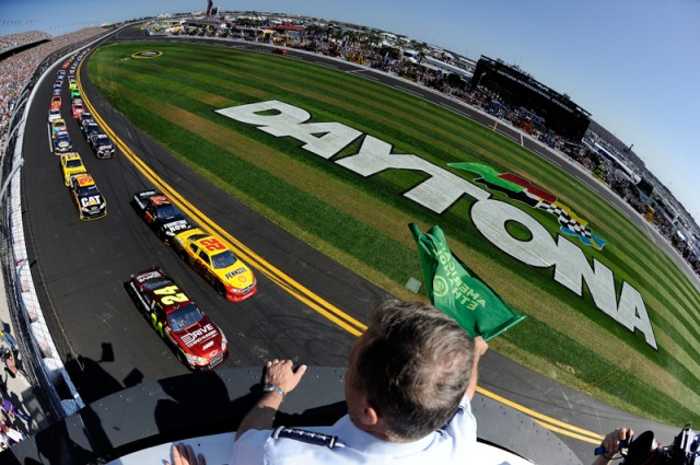 2011 Daytona 500 start - Courtesy NASCAR