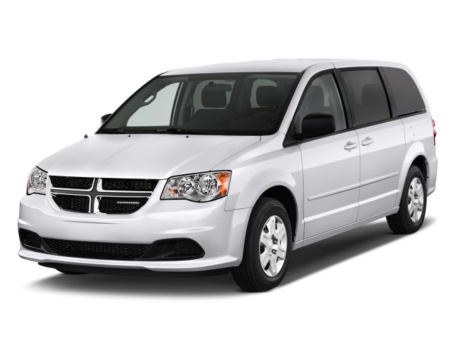 2011 Dodge Grand Caravan 4-door Wagon Express Angular Front Exterior View