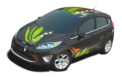2011 Ford Fiesta Customized by Lacey Brown