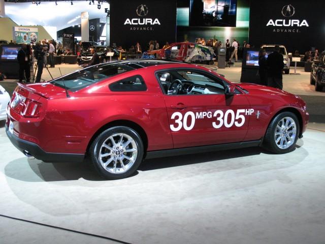 2011 Ford Mustang V-6  -  30 mpg