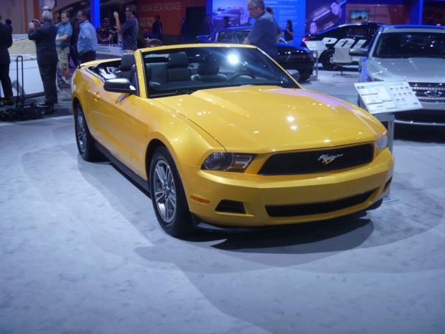 2011 Ford Mustang V-6 Convertible