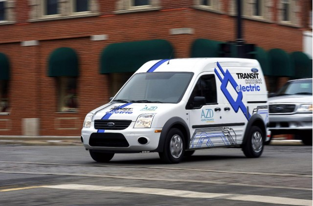 2011 Ford Transit Connect Electric, introduced at 2010 Chicago Auto Show