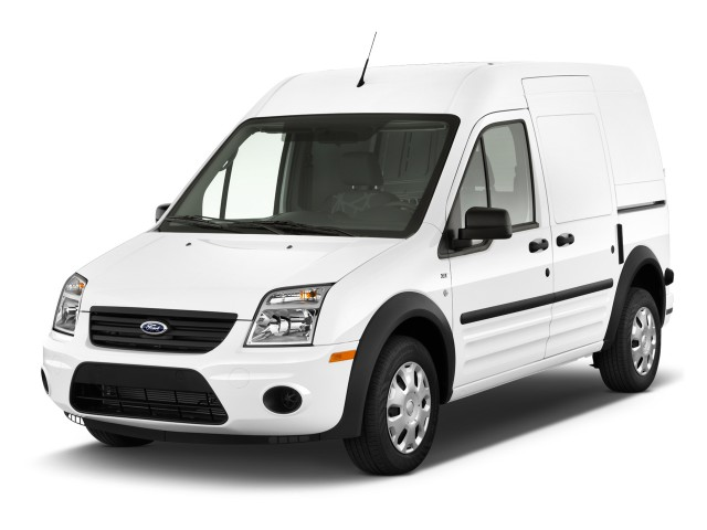 2011 Ford Transit Connect XLT w/side & rear door privacy glass Angular Front Exterior View