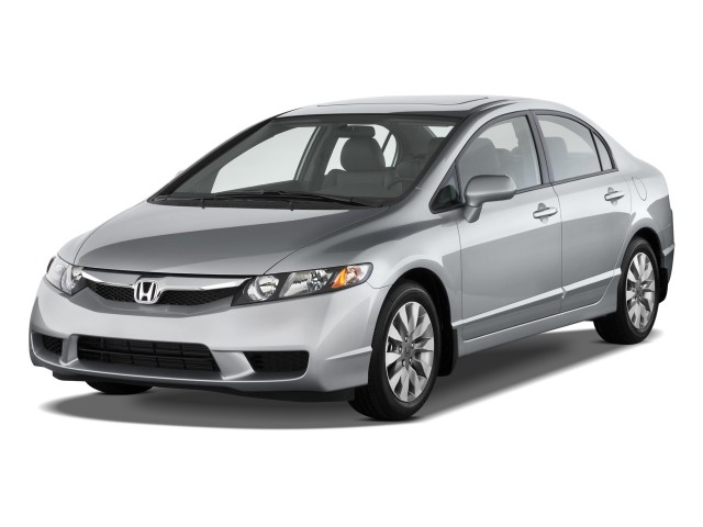 2011 Honda Civic Sedan 4-door Auto EX-L Angular Front Exterior View