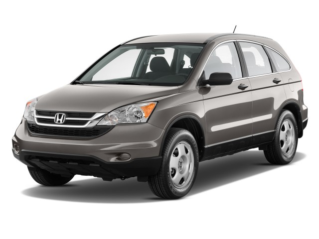 2011 Honda CR-V 2WD 5dr LX Angular Front Exterior View