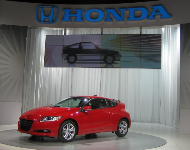 2011 Honda CR-Z launch, Detroit Auto Show, January 2010