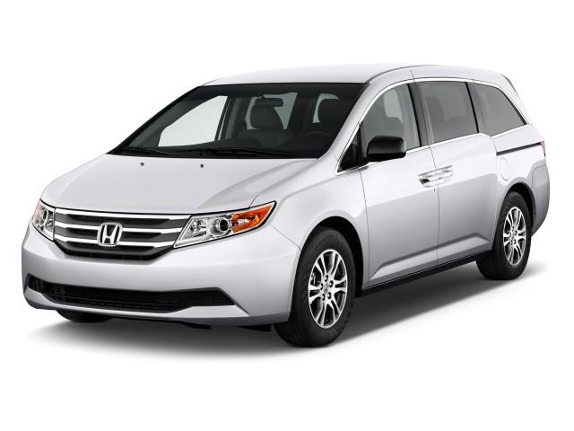 2011 Honda Odyssey 5dr EX Angular Front Exterior View