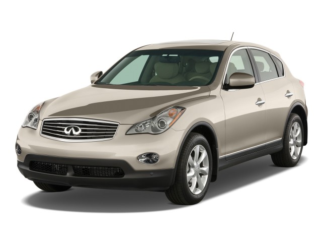 2011 Infiniti EX35 RWD 4-door Journey Angular Front Exterior View