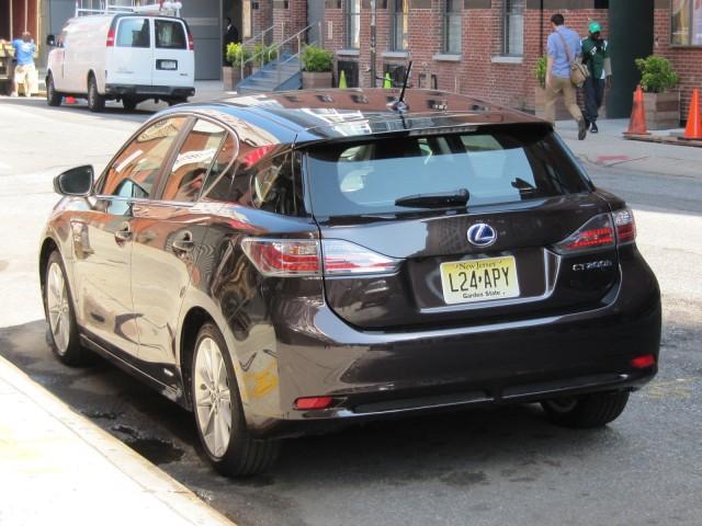 2011 Lexus CT 200h compact hybrid hatchback, road test, June 2011