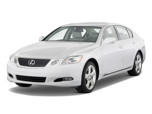 2011 Lexus GS 350 4-door Sedan RWD Angular Front Exterior View