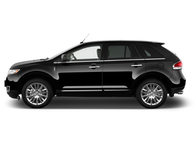 2011 Lincoln MKX FWD 4-door Side Exterior View
