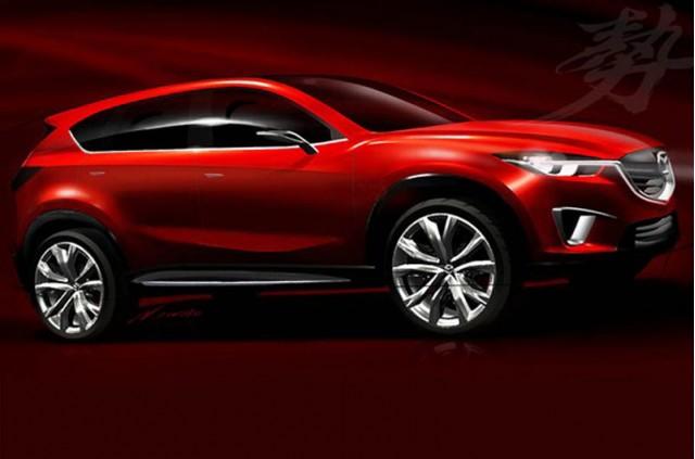 2011 Mazda Minagi Concept leak