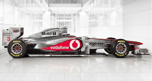 2011 McLaren MP4-26 F1 race car
