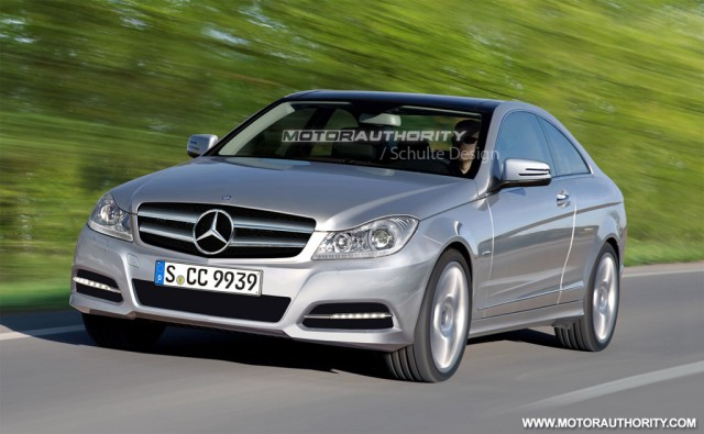 2011 Mercedes-Benz C-Class Coupe rendering