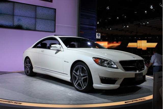 2011 Mercedes-Benz CL63 AMG live photos