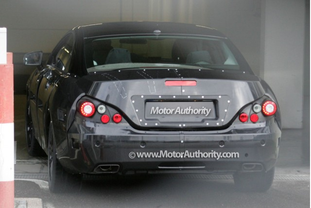 2011 mercedes benz cls spy shots december 004