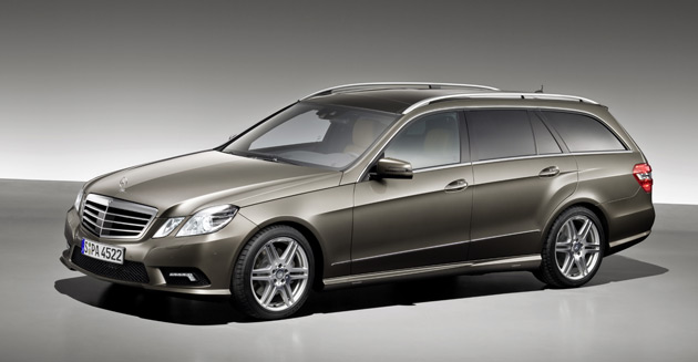 The new E-Class Estate is scheduled to make its debut at the Frankfurt Motor Show this September