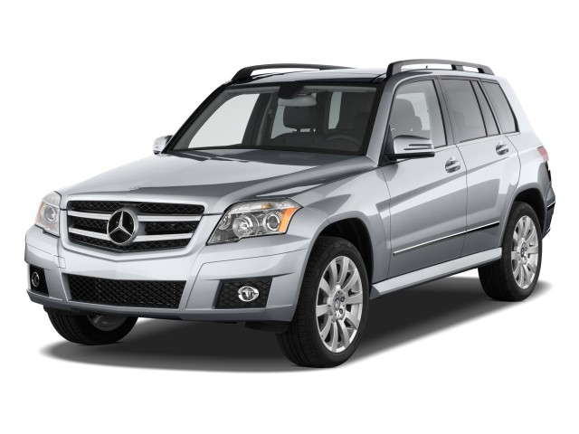 2011 Mercedes-Benz GLK Class RWD 4-door Angular Front Exterior View
