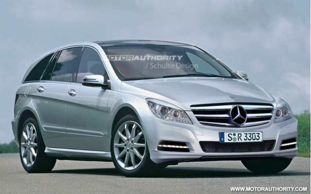 2011 Mercedes-Benz R-Class facelift rendering