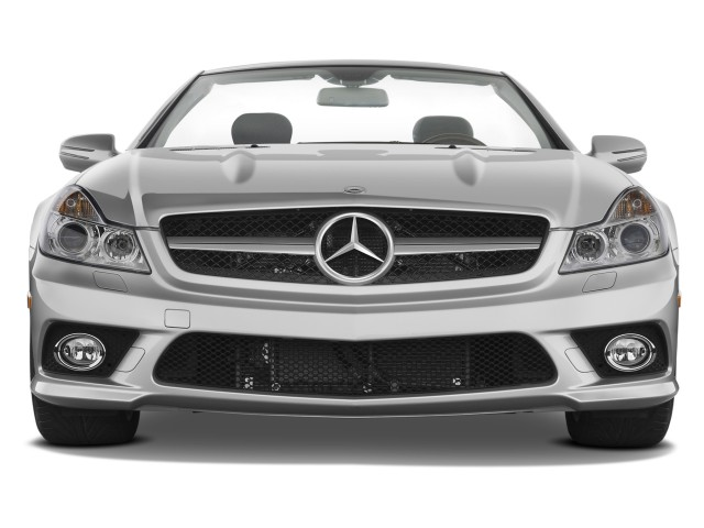 2011 Mercedes-Benz SL Class 2-door Roadster 5.5L V8 Front Exterior View