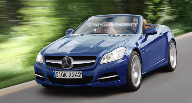 The next-generation SLK is expected to make its debut in late 2010 as a 2011 model