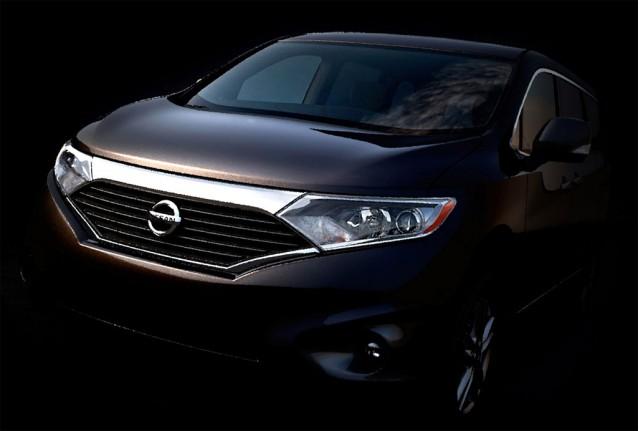 2011 Nissan Quest minivan teaser
