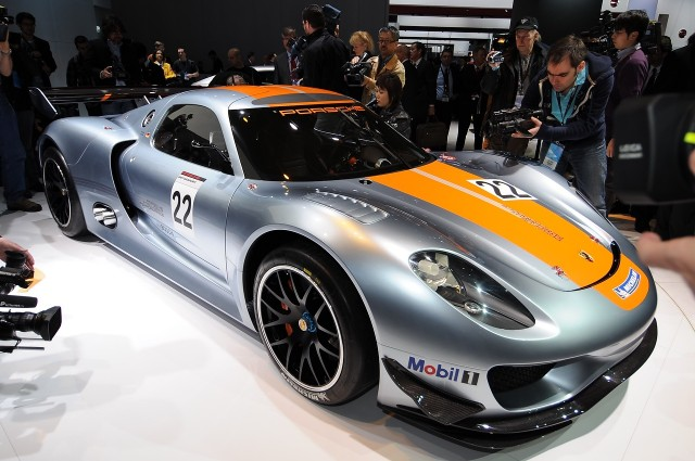 World's Fastest (Or 2nd-Fastest?) Hybrid: Porsche 918 RSR