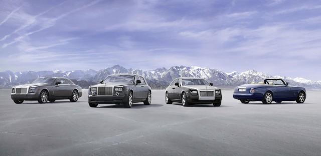 2011 Rolls-Royce lineup