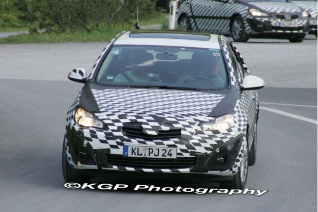 2011 Saturn Astra Spy Shot