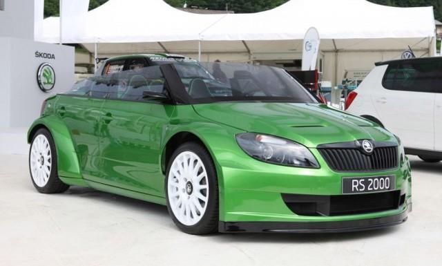 2011 Skoda Fabia vRS 2000 speedster concept