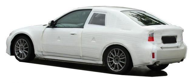 2011 Subaru Coupe Spy Shots