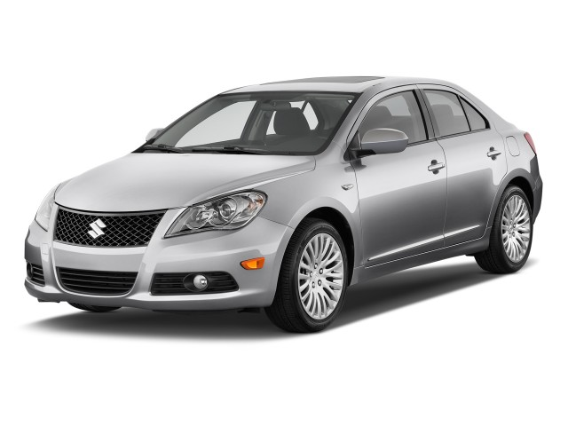 2011 Suzuki Kizashi 4-door Sedan Man FWD SLS Sport Angular Front Exterior View