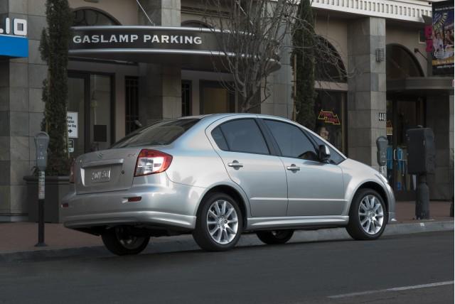 2011 Suzuki SX4 sedan