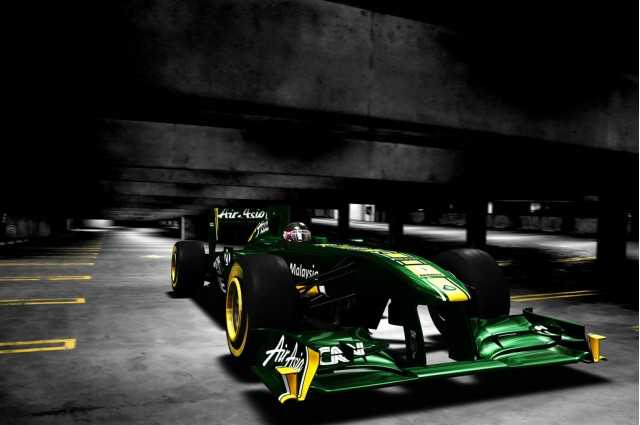 2011 Team Lotus Formula 1 car