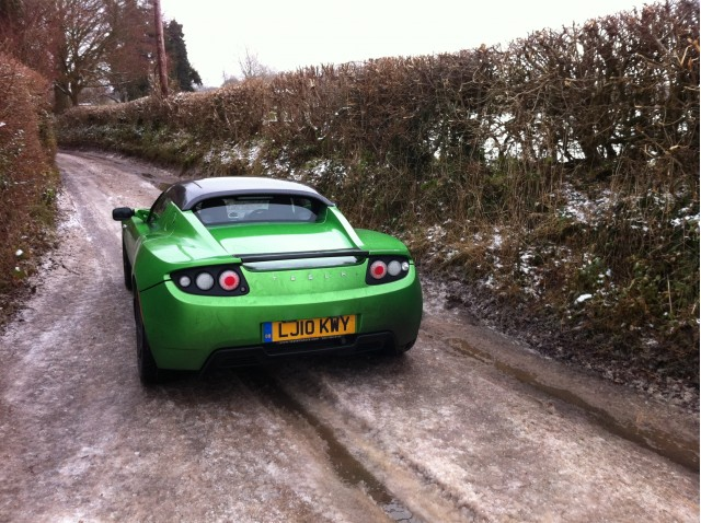2010 Tesla Roadster Sport 2.5 Cold Weather Testing