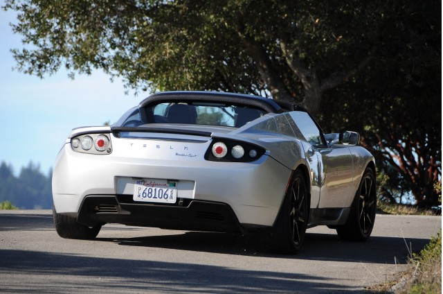 2011 Tesla Roadster Sport. Photo by Joe Nuxoll.