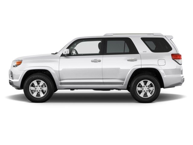 2011 Toyota 4Runner 4WD 4-door V6 SR5 (GS) Side Exterior View