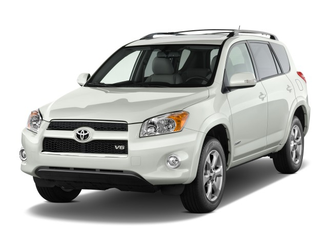 2011 Toyota RAV4 FWD 4-door V6 5-Spd AT Ltd (GS) Angular Front Exterior View