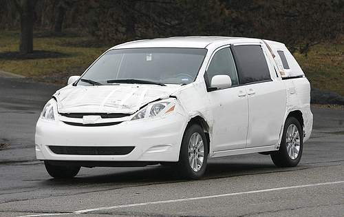 2011 Toyota Sienna in process